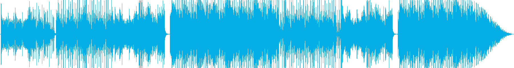 Kpop ワイルドスピードっぽい曲の再生済みの波形