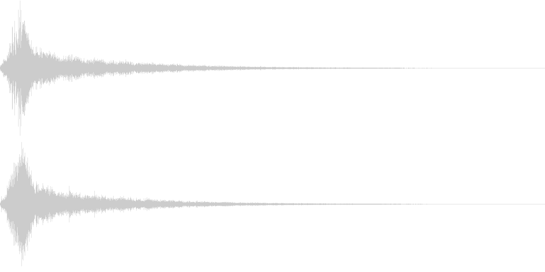 シュピーン・ピカーン・技・魔法の未再生の波形