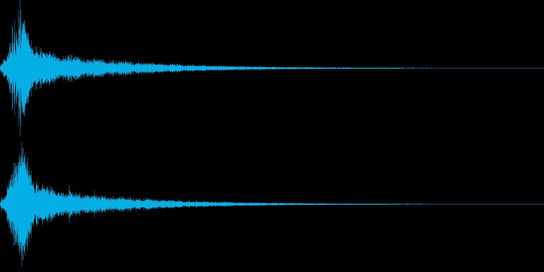 シュピーン・ピカーン・技・魔法の再生済みの波形