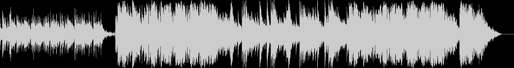 オカリナが奏でるメロディが美しい短曲の未再生の波形