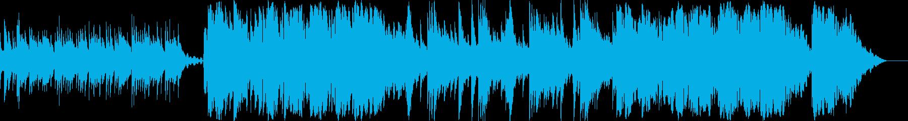 オカリナが奏でるメロディが美しい短曲の再生済みの波形