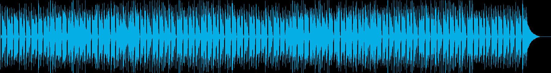 【リズム抜き】ギターが心地よいボサノバの再生済みの波形