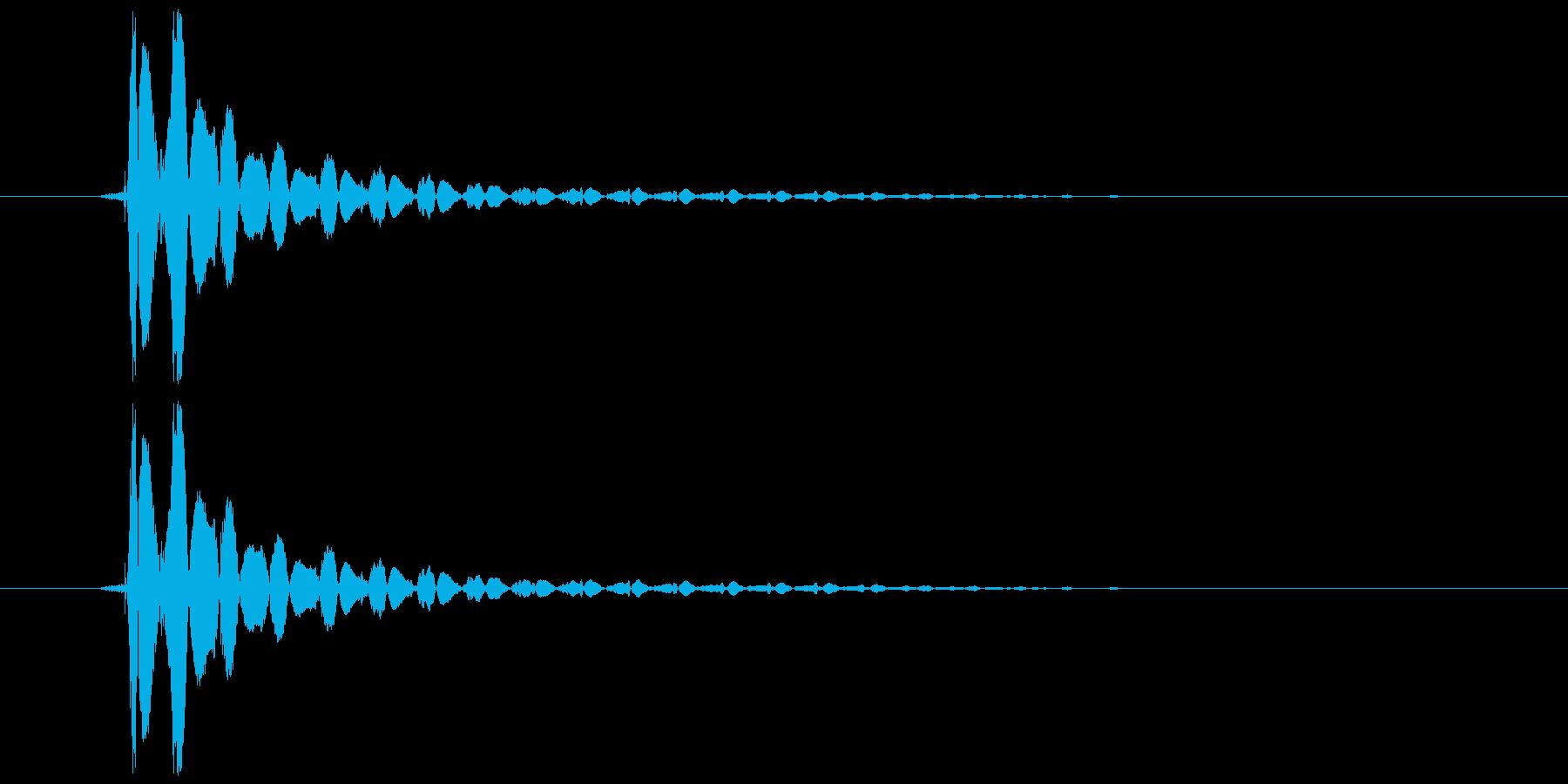 ボョンの再生済みの波形