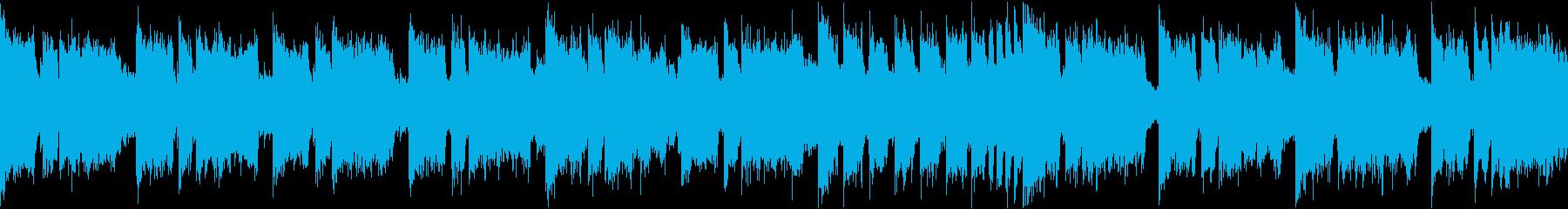 39秒でサビ、琴、ダーク/静かめループの再生済みの波形