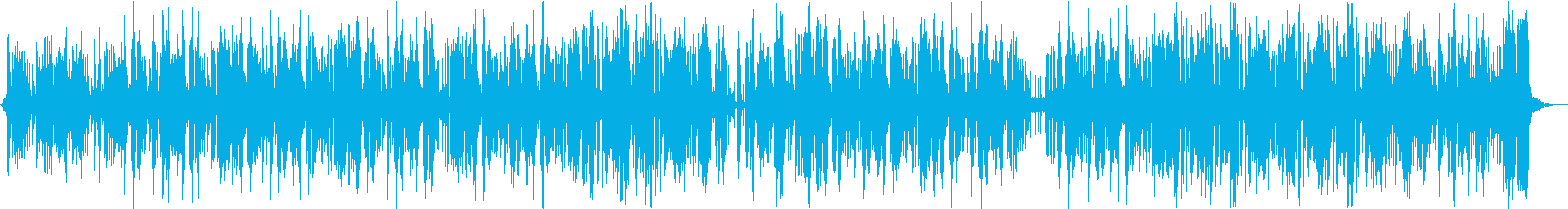 探検・ジャングル・探索中なビート重視の曲の再生済みの波形