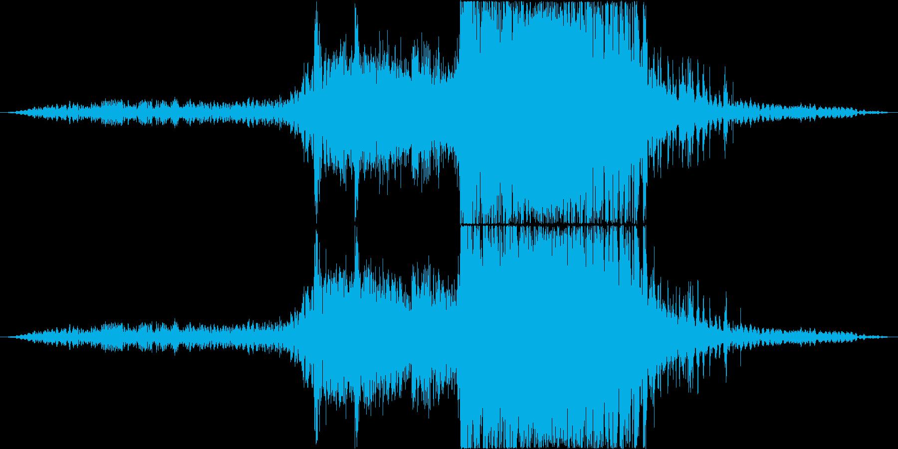 衝撃 エアストライク09の再生済みの波形