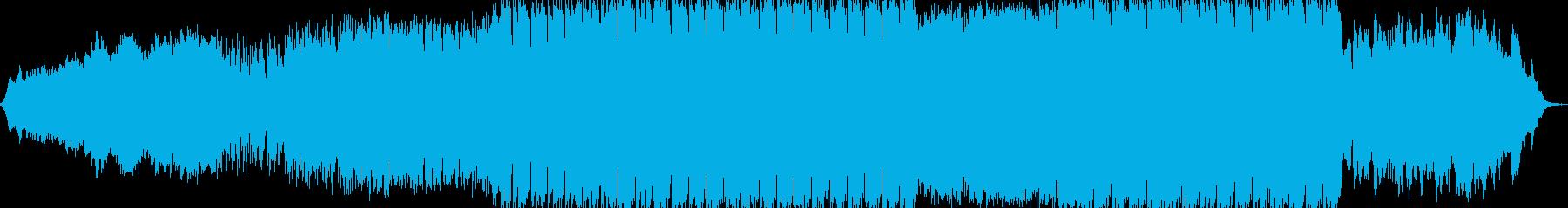 インストゥルメンタル ゴシックロックの再生済みの波形