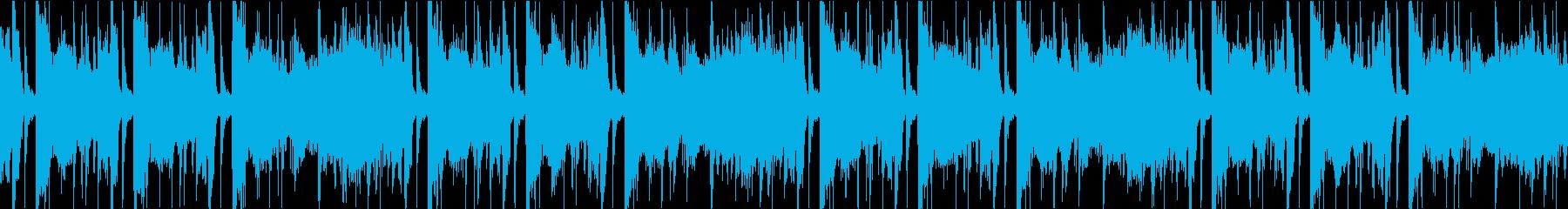 Lofihiphop_JazzyLoopの再生済みの波形