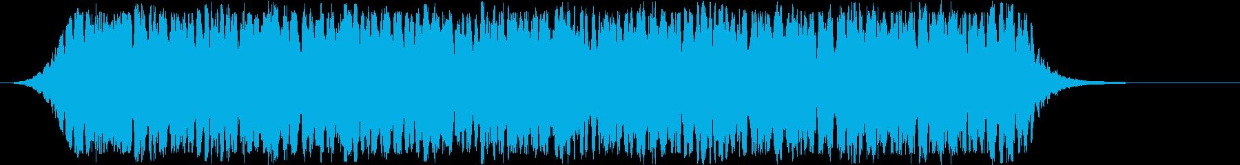 シンセベースのスピニングライトボル...の再生済みの波形