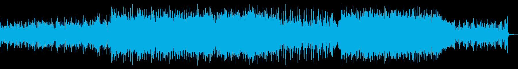 爽やかなポップス・クラリネットの再生済みの波形