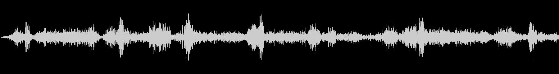 ラジオスキャン3の調整の未再生の波形