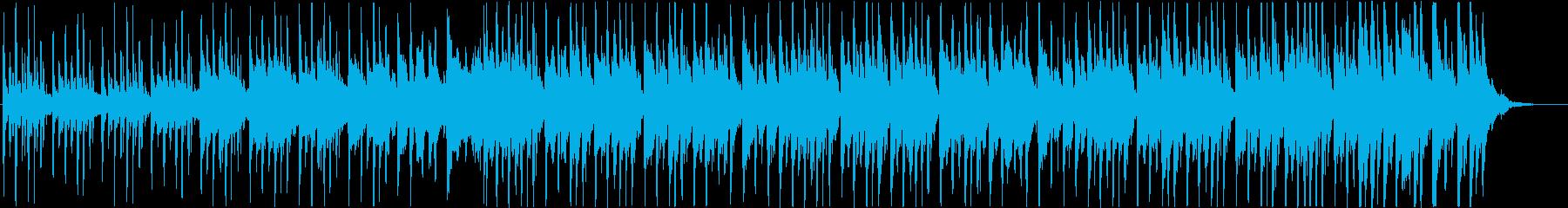ギターのハーモニクス、グロッケンシ...の再生済みの波形