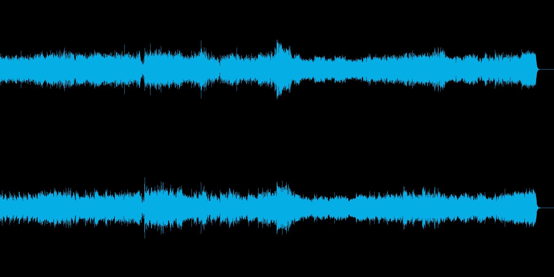 小組曲より第一楽章小舟にて の再生済みの波形