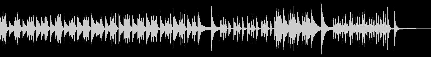 ピアノソロ災害やコロナで心の不安や心配像の未再生の波形