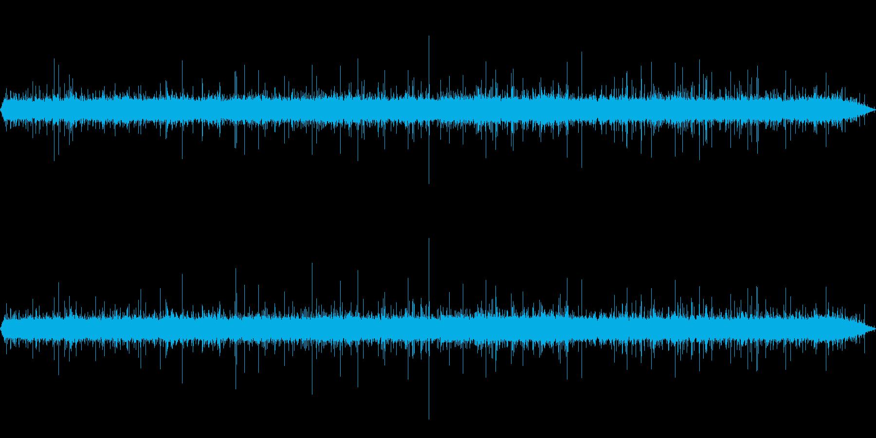 【自然音】雨音01(軽井沢)の再生済みの波形