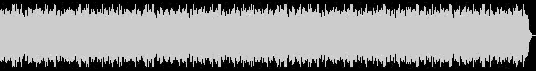 和の雰囲気のBGMの未再生の波形