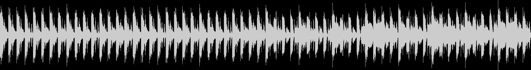 サスペンス系ループBGMの未再生の波形