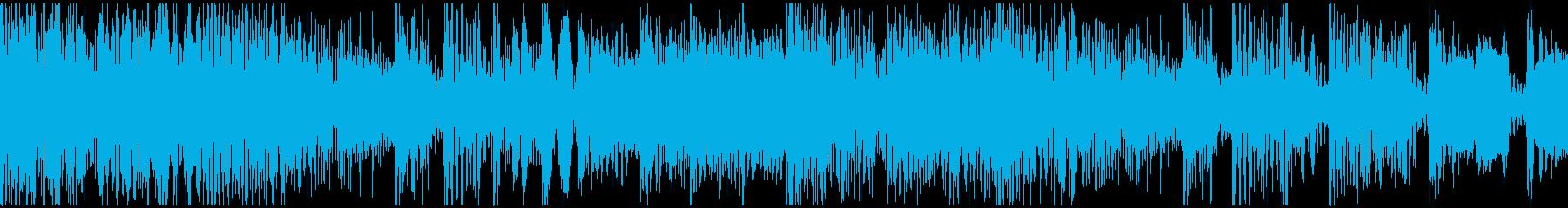 ループ。オシャレエレピ。アンビエント風。の再生済みの波形