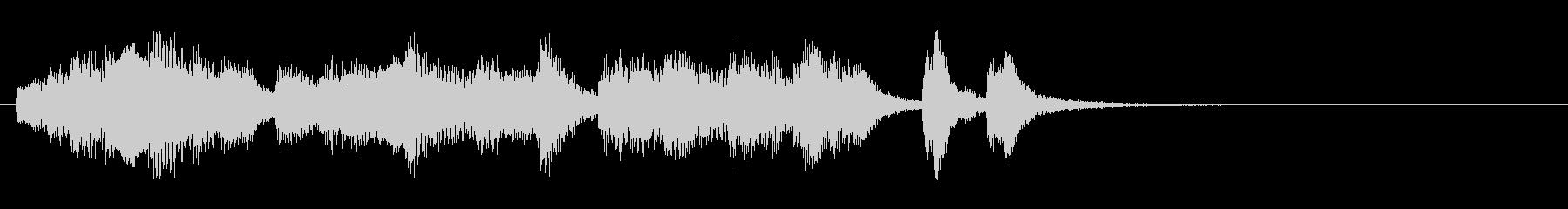 のほほんジングル021_優しいの未再生の波形