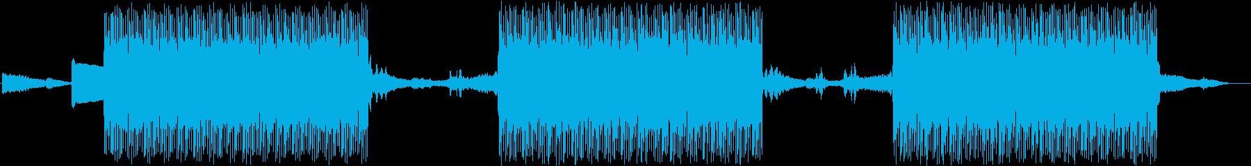 怪しい雰囲気のヒップホップビートです。の再生済みの波形