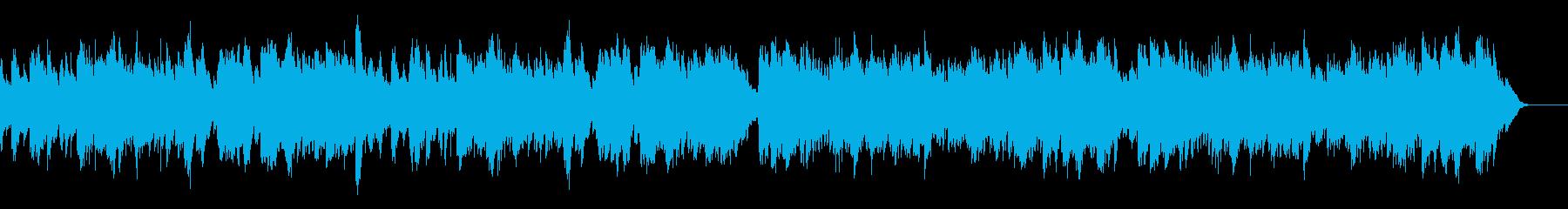 ゴルトベルク変奏曲variation2の再生済みの波形