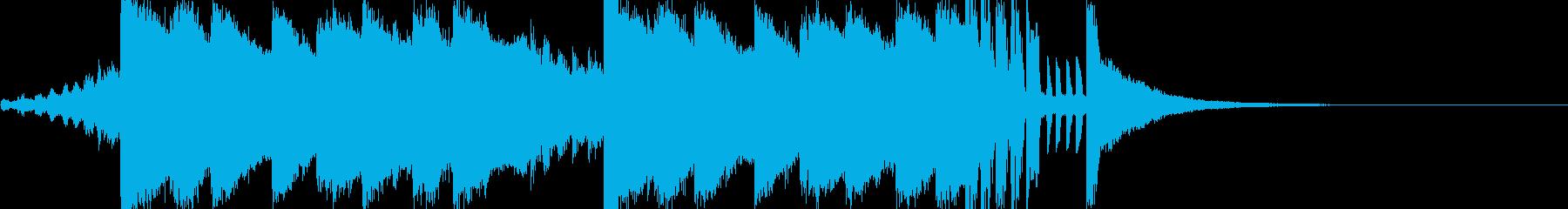 Trap+HipHop系 ジングル用の再生済みの波形