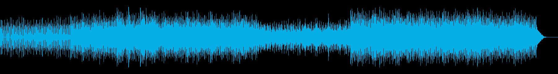 冷静になるの再生済みの波形