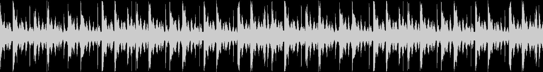 【ループ】リザルト/結果表示向けのBGMの未再生の波形