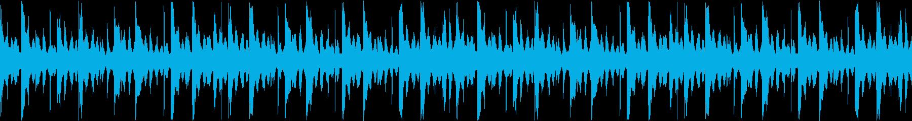 【ループ】リザルト/結果表示向けのBGMの再生済みの波形