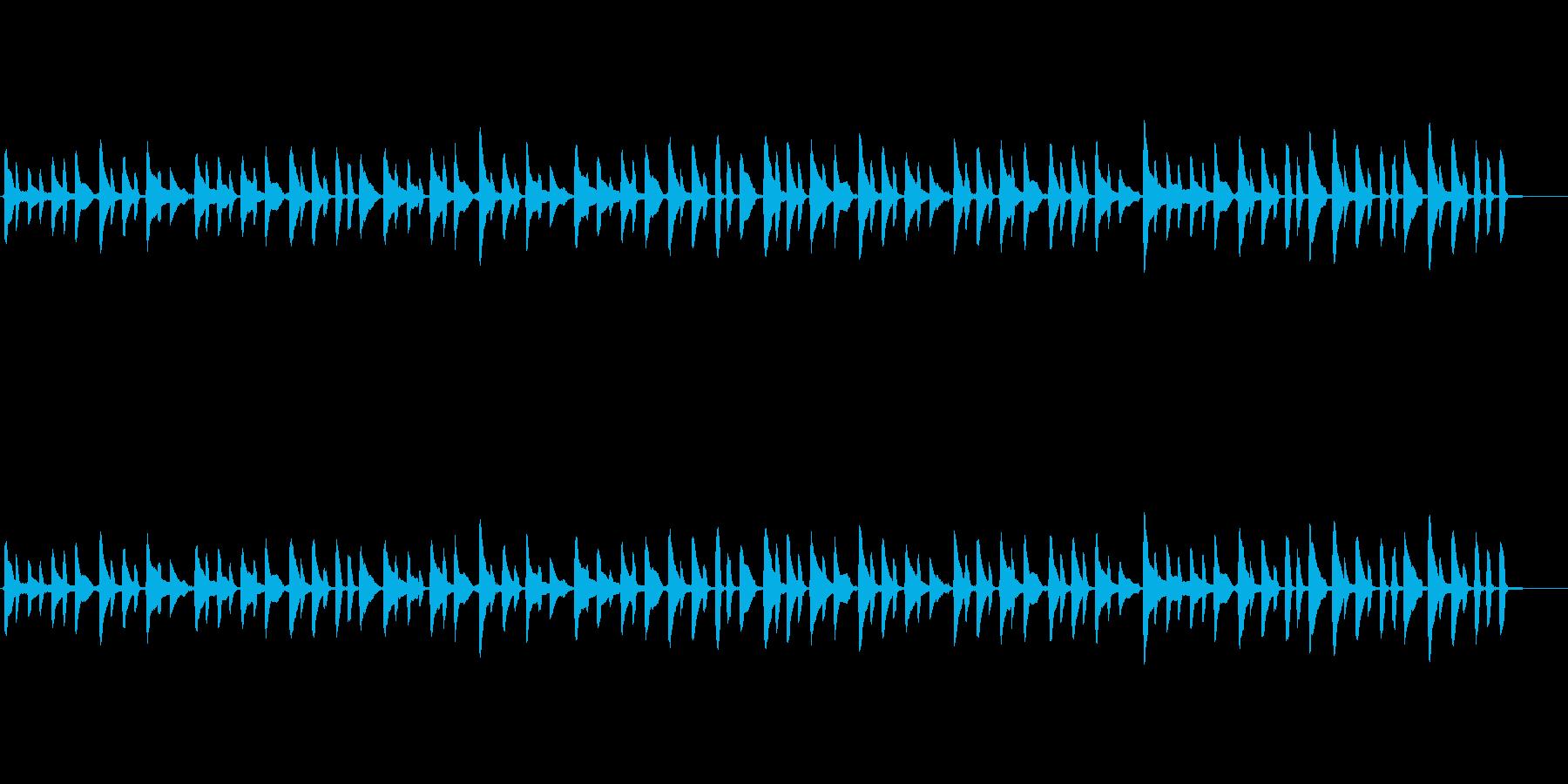 pianoだけの曲ですの再生済みの波形