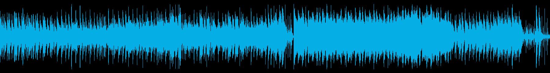 平原をイメージしたインストの再生済みの波形