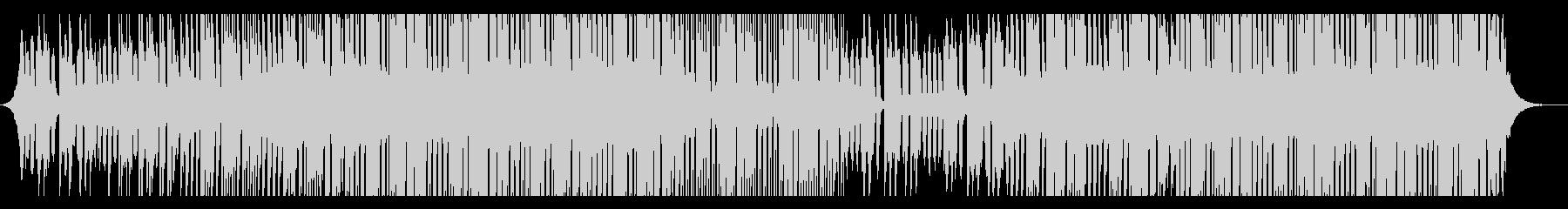 インスピレーションハウスの未再生の波形
