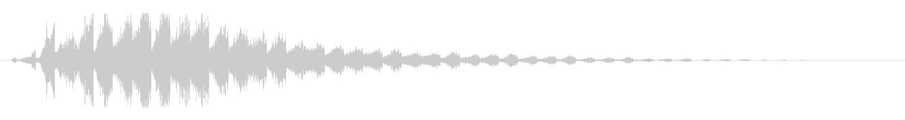 素材 スパッタ・ハーシュ・クロウ01の未再生の波形