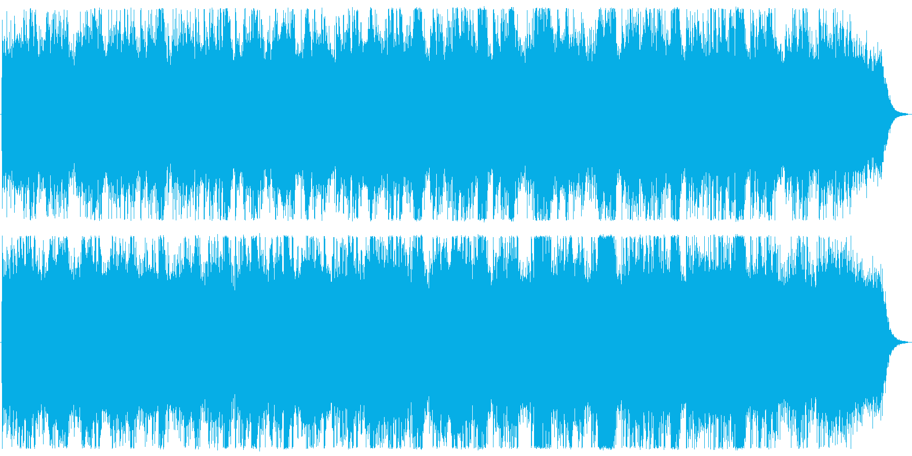 Chill/Healing系の曲11の再生済みの波形