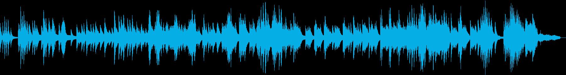 ほのぼのとした感動的なピアノバラードの再生済みの波形