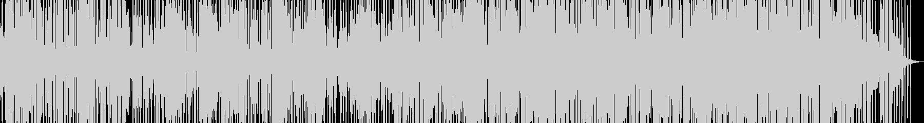 おしゃれなDISCOの曲の未再生の波形