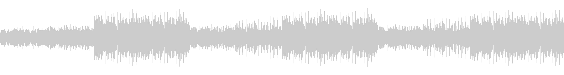 幻想的なエモラップ系ヒップホップBGMの未再生の波形