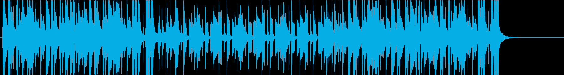 サルサ、またはラテンのんの再生済みの波形