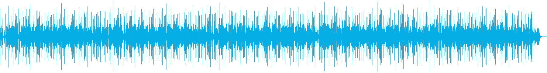 バンドサウンドBBking風BGMの再生済みの波形