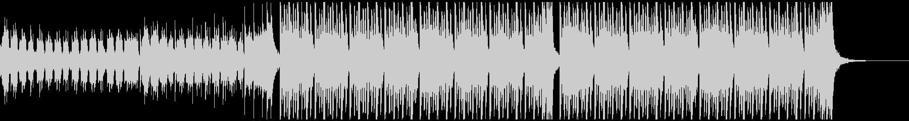 ドライブ(60秒)の未再生の波形