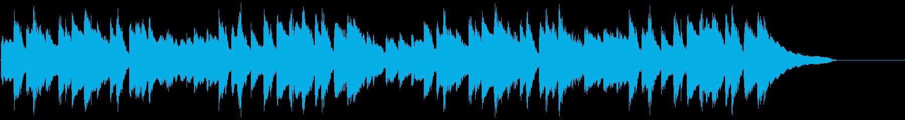 動画広告 30秒 ソロピアノ 日常の再生済みの波形
