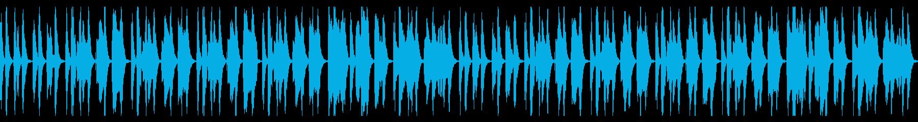 優しい・朗らか・のほほんとしたループ曲の再生済みの波形