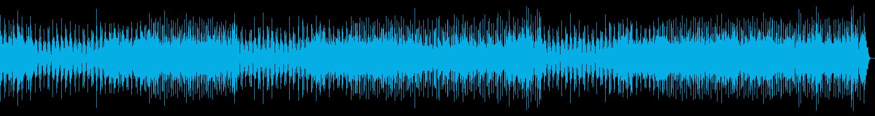 ヴァイオリンの軽快なメロディの再生済みの波形