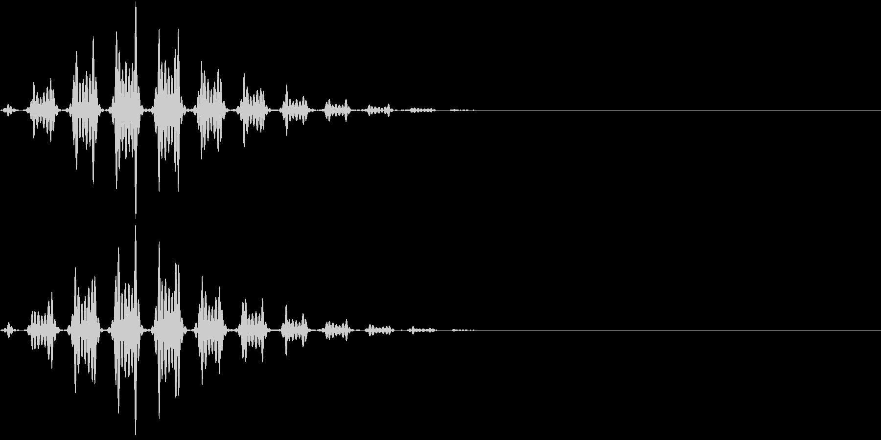 FX 幽霊の効果音 揺れる SE 3の未再生の波形