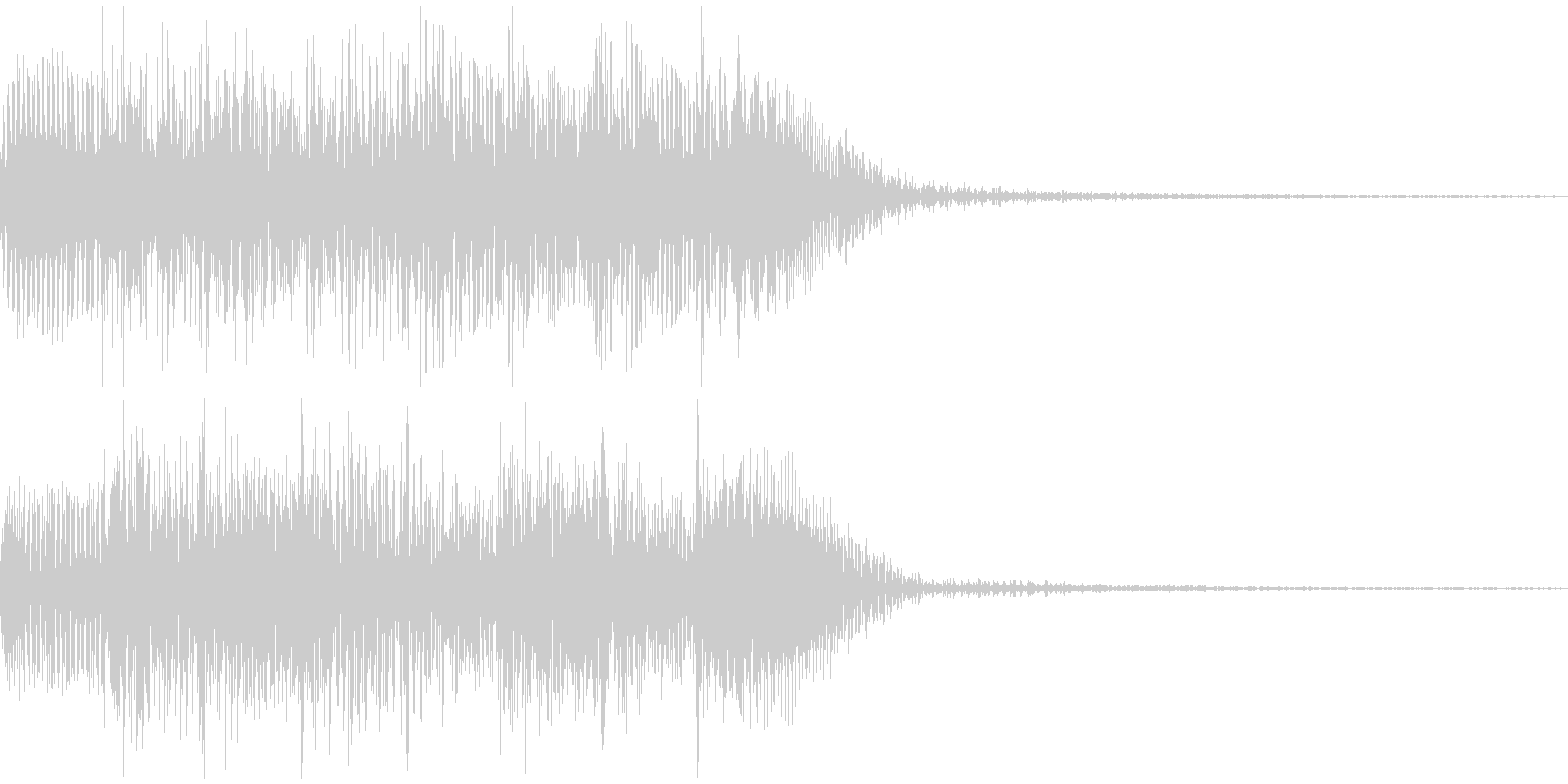不穏なピアノのSE的音源です。の未再生の波形