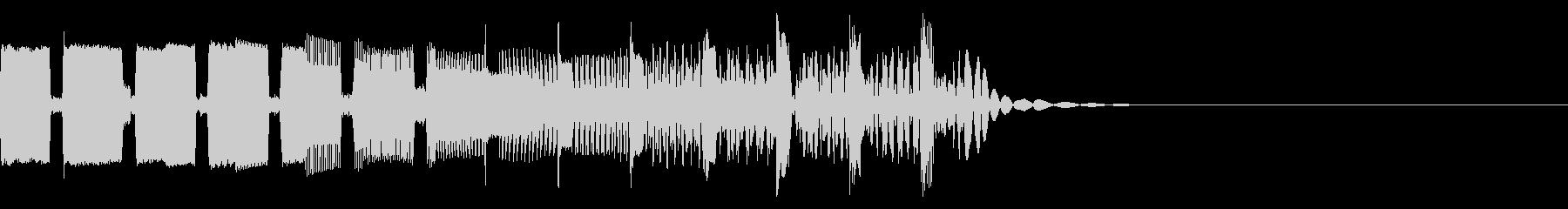 [8Bit]レトロゲーム系SE-04の未再生の波形