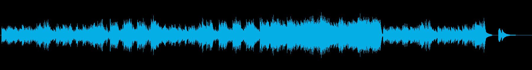 小鳥が戯れるような、軽やかなピアノ小品の再生済みの波形