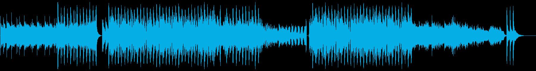 清涼感が際立つダンスBGMの再生済みの波形