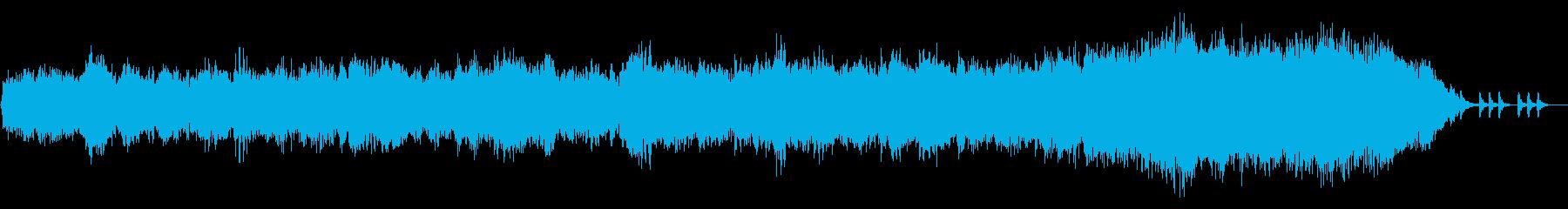 神々しいエレクトロなアンビエントの再生済みの波形