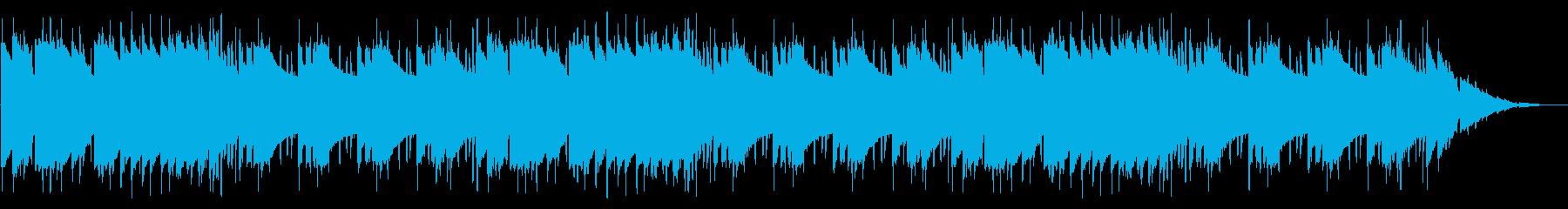 GB風スポーツゲームのエンディング曲の再生済みの波形